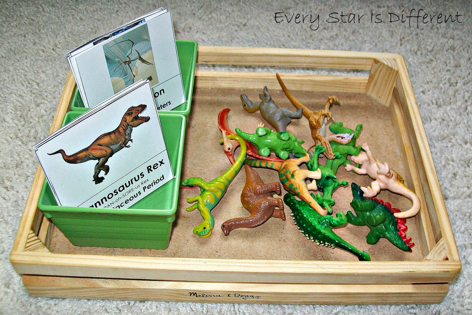 Every Star Is Different Dinosaur Unit W Free Printables