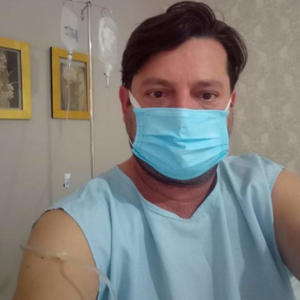 Quedas: Prefeito Elcio Jaime volta a se pronunciar nas redes sociais sobre seu estado de saúde