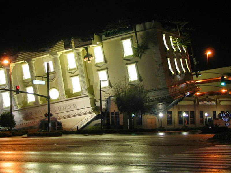 12. Wonderworks (Tennessee, USA) - Top 13 World's Strangest Buildings
