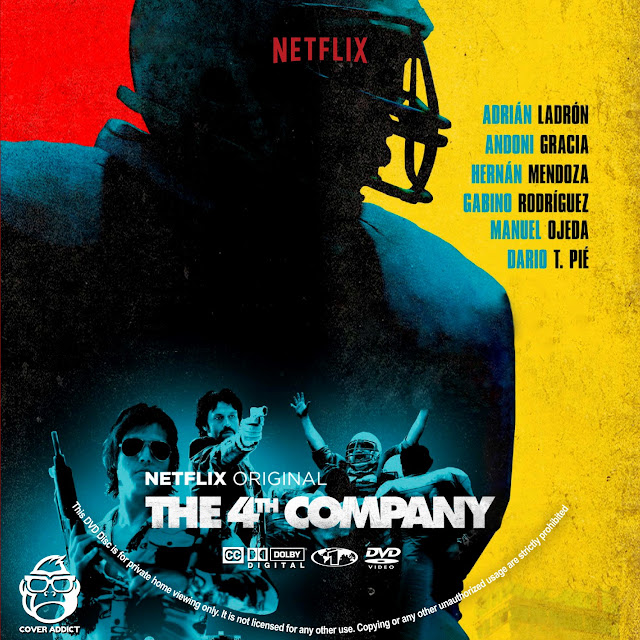 The 4th Company DVD Label