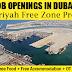 Hamriyah Free Zone Job Openings in Dubai - Hamriyah Free Zone Project Job