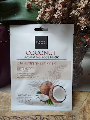 abriella Salvete 15 Minutes Sheet Mask Coconut
