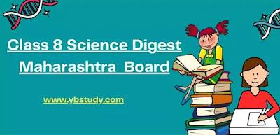 Science Digest Std 8 Maharashtra Board