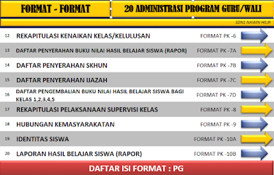Download Aplikasi 20 Program Administrasi Guru Dan Wali Kelas Terbaru 2016