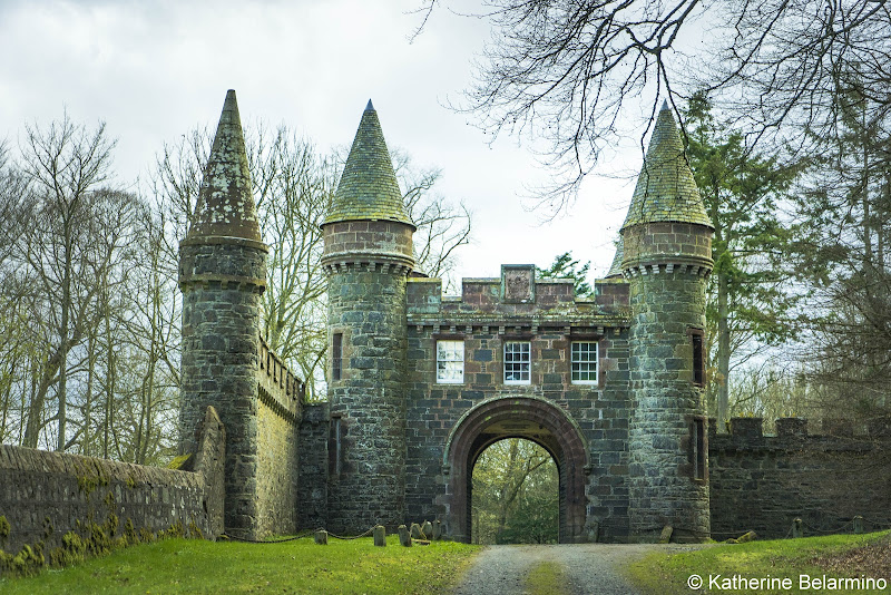 Fyvie Castle Gate Best Castles in Scotland for a Road Trip Itinerary