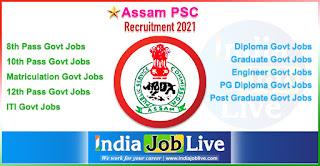 assam-psc-recruitment-indiajoblive.com