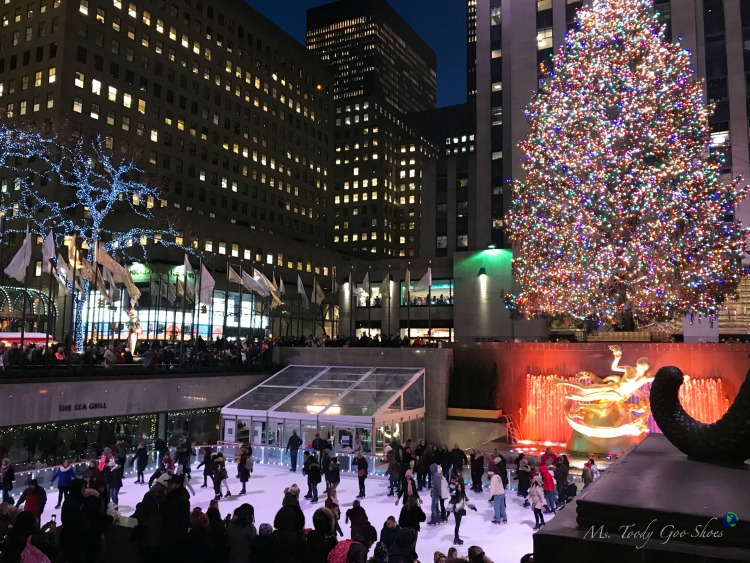Rockefeller Center Christmas Tree - One of 10 Must- See Holiday Sights in Midtown, New York City | Ms. Toody Goo Shoes