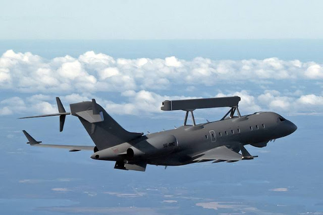 Saab delivers first GlobalEye UAE