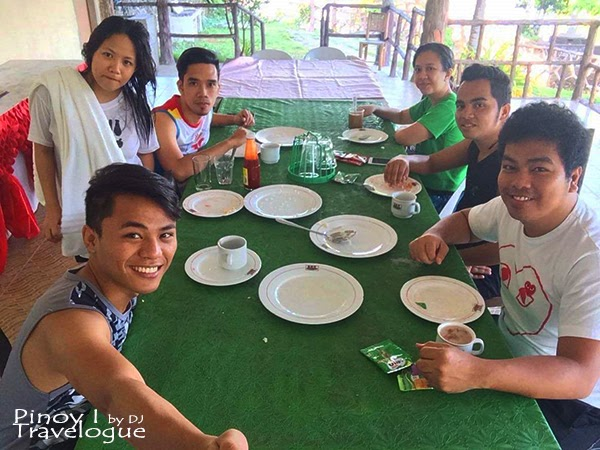 Just finished our self-prepared breakfast at Bano Beach Resort