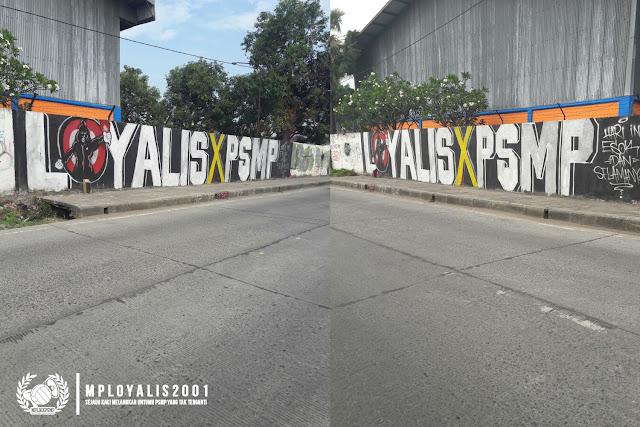 Mural Suporter Sepak Bola di Pinggir Jalan; Kreativitas atau Vandalisme?
