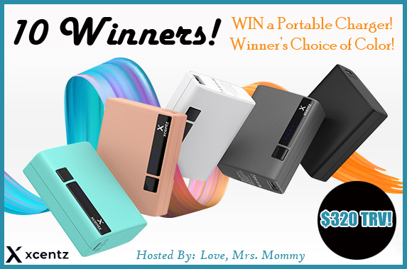 Portable Charger Giveaway