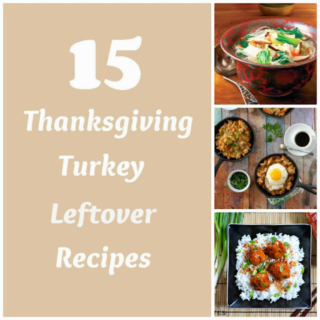 Delicious looking recipes for Thanksgiving #turkey leftovers. #food #recipes