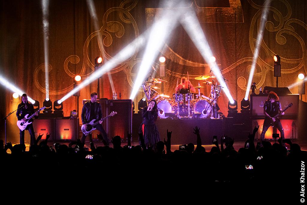Evanescence в Крокус Сити Холле