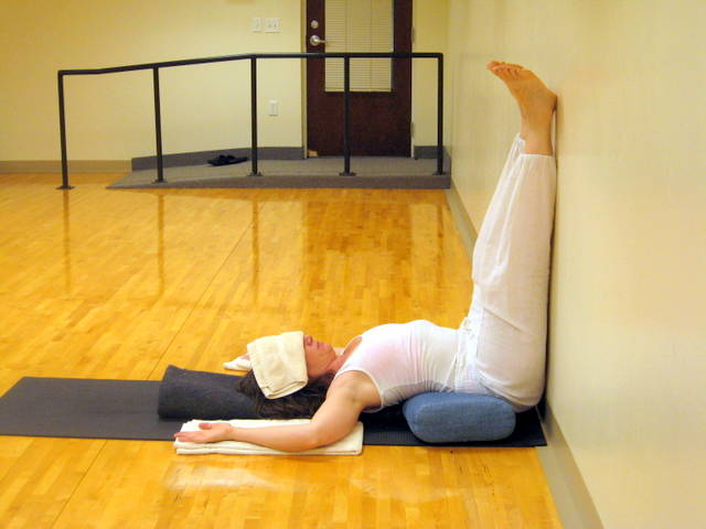 Slow & Flow: Restorative Yoga Pose #1- Legs Up The Wall