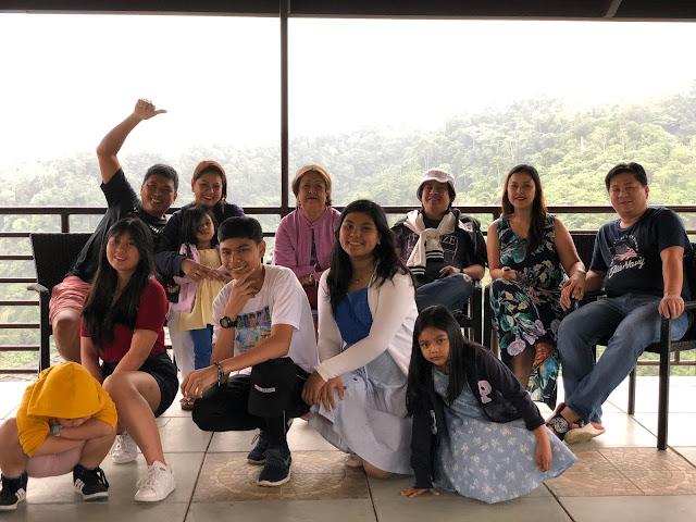 Family photo at Vista Tala Resort