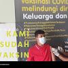 Vaksin Dosis Pertama untuk Dewan guru dan Karyawan SMK Muhammadiyah 1 Trenggalek