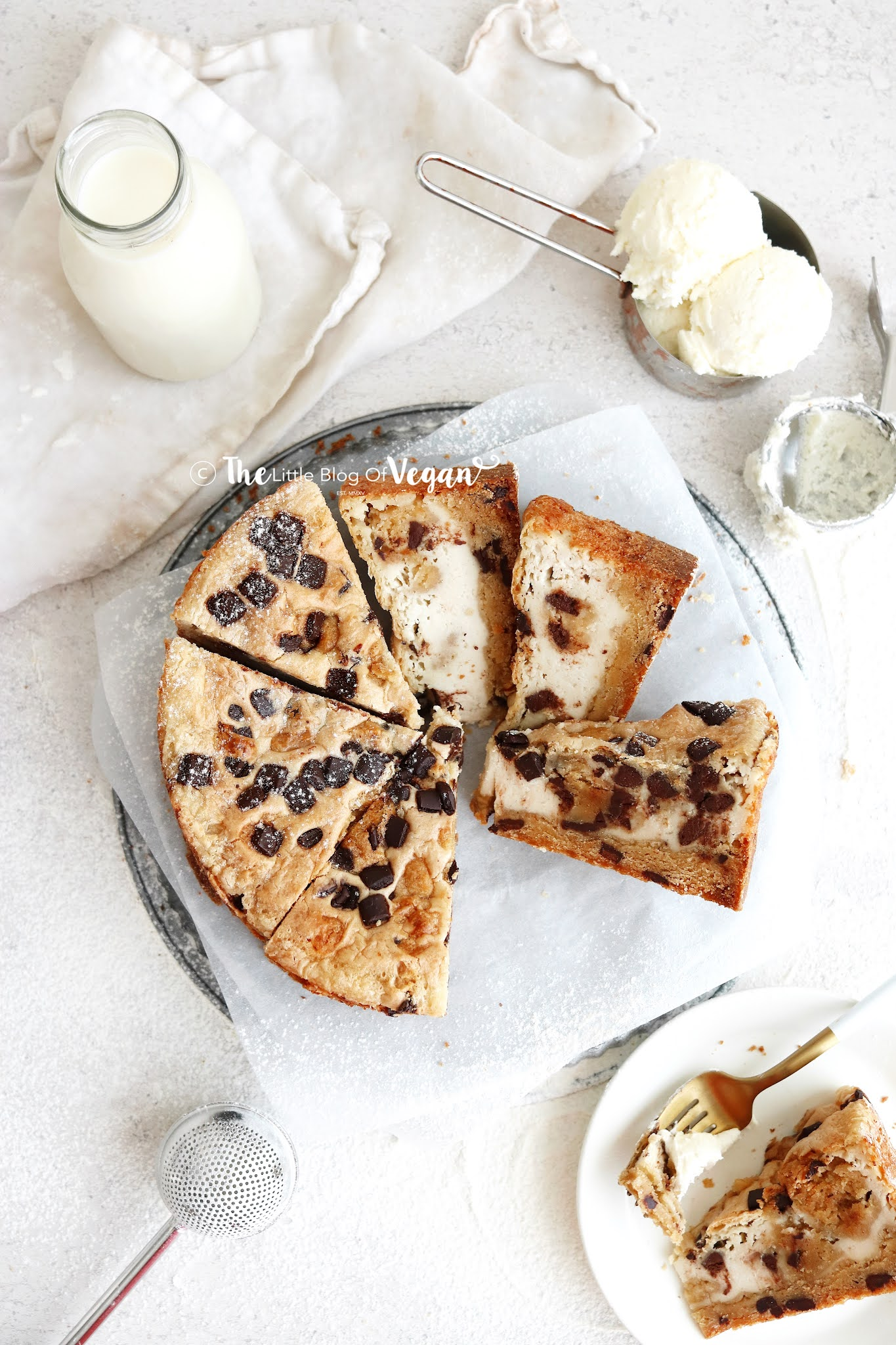 cookie-dough-cheesecake-slices