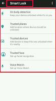 google smart lock turn off