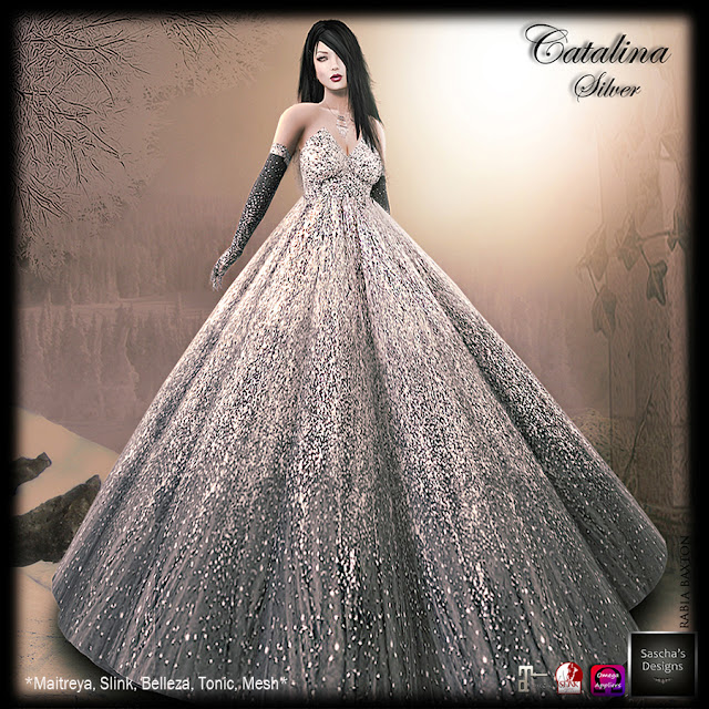 SASCHA'S DESIGNS - Gown on Special & 60 L items