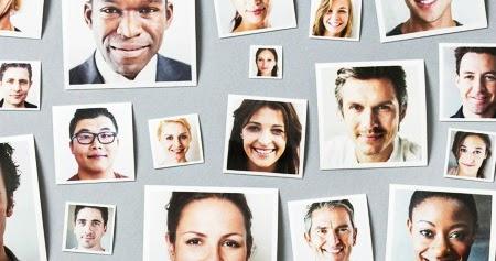 La sorprendente diversidad de las caras humanas
