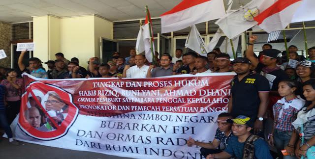 Brigade Meo Murka, Paksa DPRD NTT Tandatangai Dukungan Pembebasa AHOK, Bubarkan HTI dan FPI