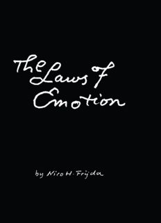 The Laws of Emotion