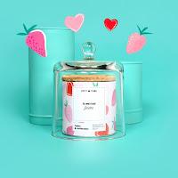 bougie petit cube speciale saint valentin 2020