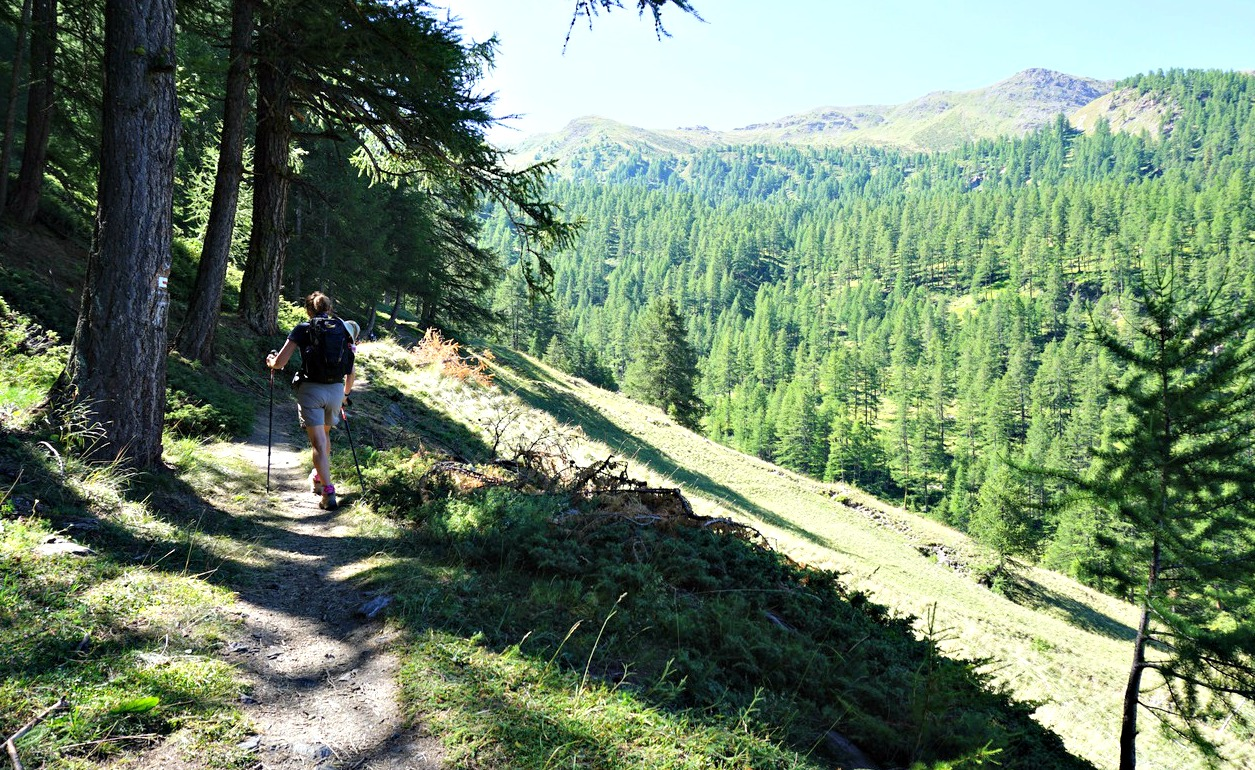 Ascending to Col d'Urine