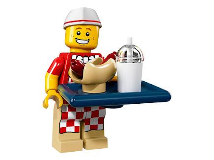 LEGO 71018-6 - Sprzedawca hot dogów