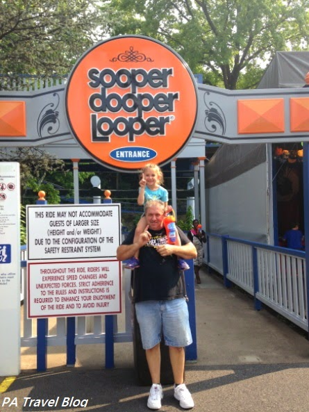Sooper Dooper Looper at Hersheypark
