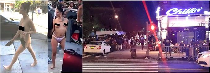 Dominicanos fuera de control en el Alto Manhattan violan en masa protocolos de COVID