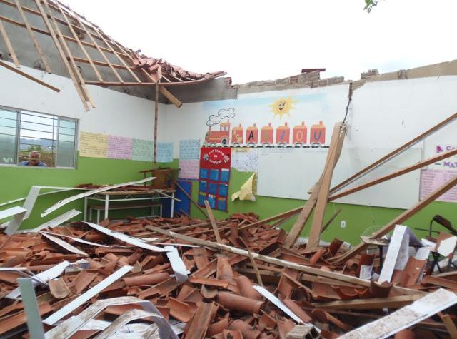 Teto de escola infantil desaba no interior de São Paulo e deixa feridos