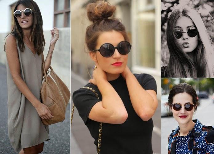 As fashionistas já estão circulando seus modelos por aí, mostrando que eles  vêm com tudo! ÓCULOS GATINHO e453a08d2f