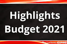 Budget 2021 in just 30 Points