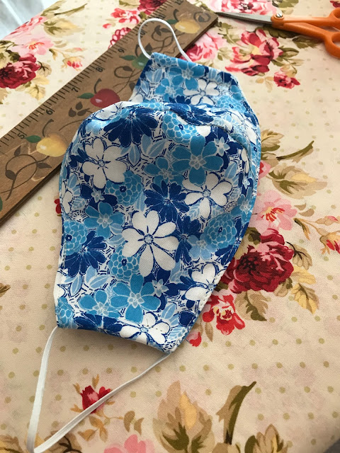 Making Facemasks to protect yourself, Living From Glory To Glory Blog