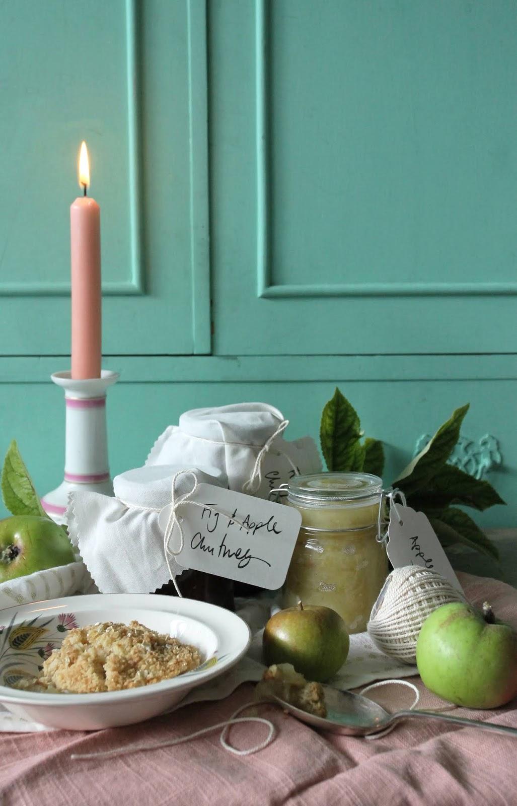 Three ways with autumn apples