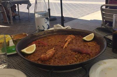 Paella de marisco, Casa Ripoll