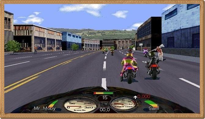 Road Rash PC Gameplay