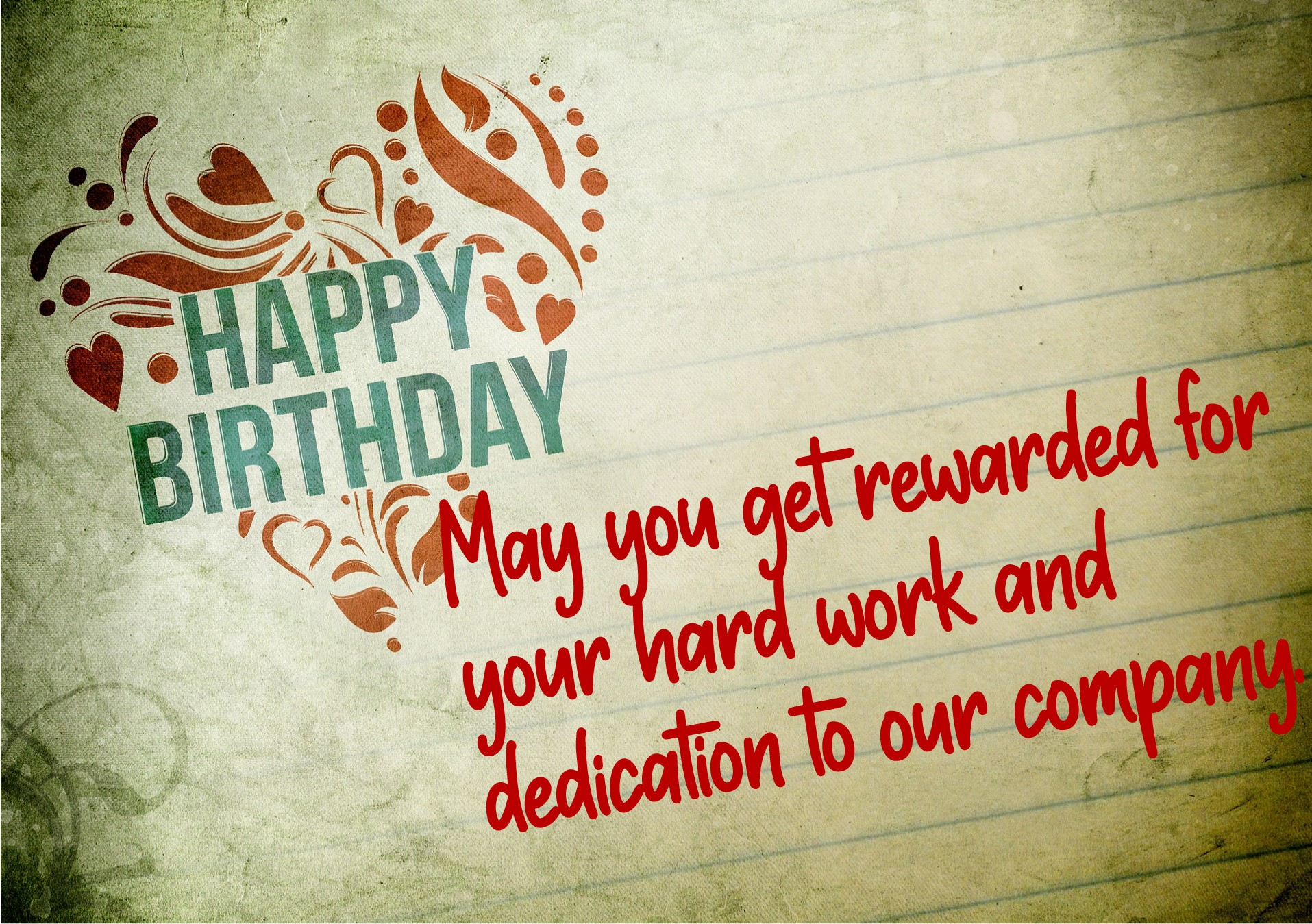 Best birthday wishes for a senior colleague