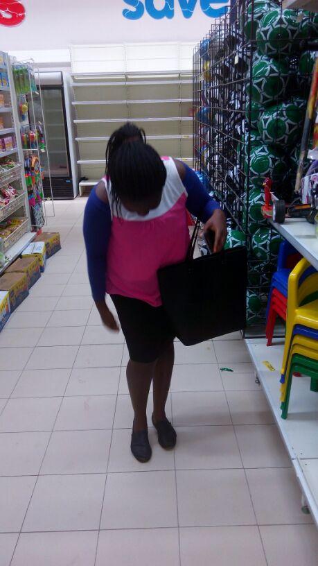 Esther Adeniyi at Shoprite