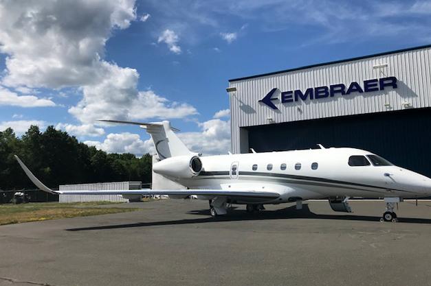 Embraer conclui primeira conversão do Legacy 450 em Praetor 500   É MAIS QUE VOAR