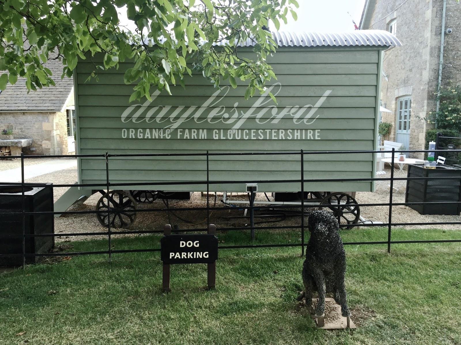 Daylesford Organic Farm in Gloucestershire Dog Parking