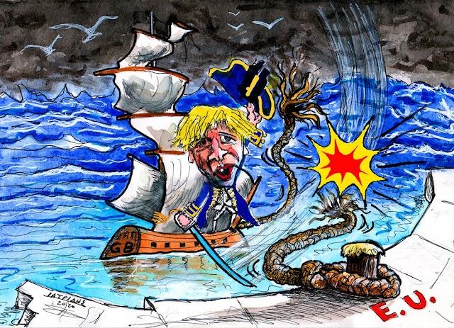 Η Μεγάλη Βρετανία αποχώρησε επισήμως από την Ευρωπαϊκή Ένωση #Brexit