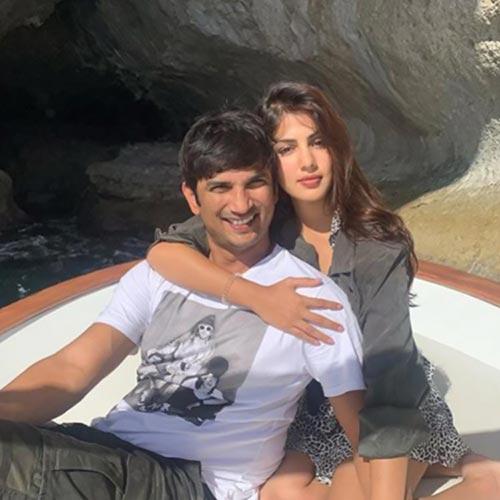 10 Photos Of Sushant Singh Rajput And Rumored Girlfriend
