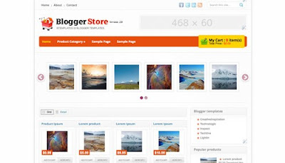 Blogger Store Blogger Templates