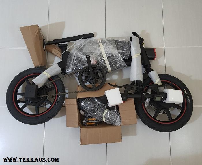 How To Assemble DYU D3+ Smart Foldable Electric Bike