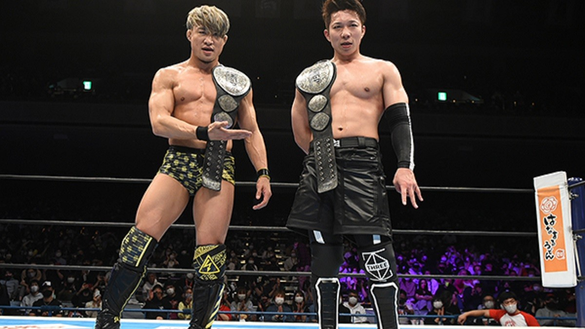 Roppongi 3K se separa durante o NJPW Summer Struggle