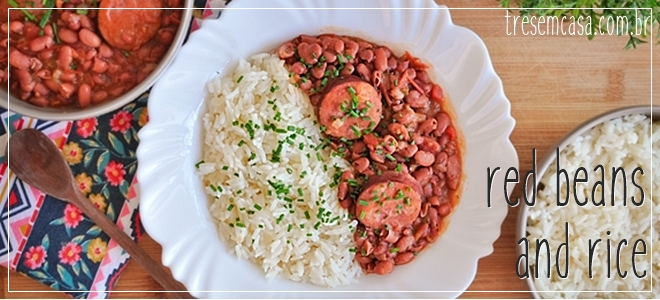red beans and rice receita