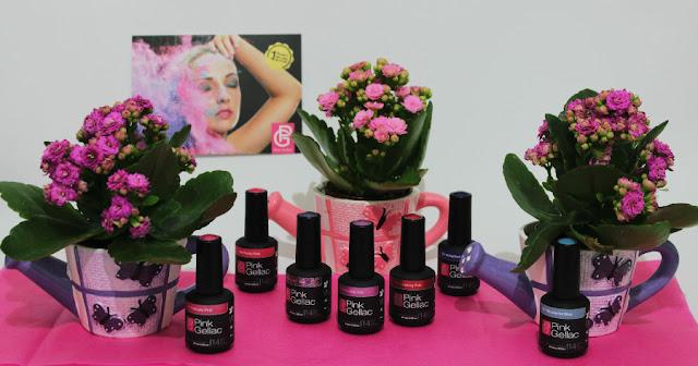 The Cruise Pink Gellac colección verano esmaltes permanentes