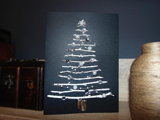 Pomysl na świąteczną kartkę